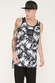 Cayler & Sons Palm Graphic Tank #forever21men