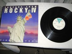 FIRST PATROL - Fanfare From Rocky IV *Italo* 12 MAXI