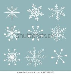 Find Vector Set Simple Hand Drawn Snowflakes stock images in HD and millions of other royalty-free stock photos, illustrations and vectors in the Shutterstock collection. Thousands of new, high-quality pictures added every day. Christmas Rock, Christmas Snowflakes, Christmas Signs, Simple Christmas, Christmas Crafts, Snowflake Drawing Easy, Simple Snowflake, Snowflake Designs, Snowflake Images