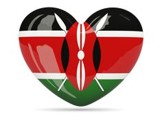 Heart icon. Download flag icon of Kenya at PNG format
