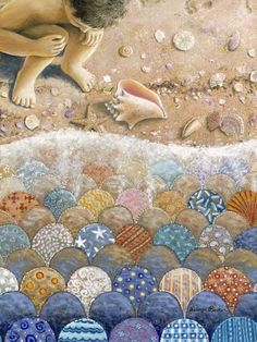 Rebecca Barker's Quiltscapes ~ Blog of an Art Admirer