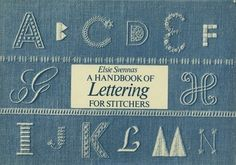 lettering for stichers