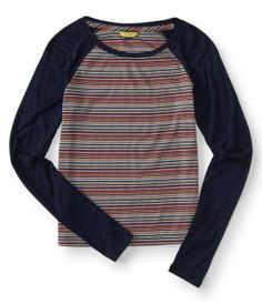 Aero Girls Henleys & Tees - Shop Girls Henley, V-Neck & Scoop Neck T-Shirts from Aeropostale - Girls Clothes