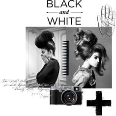 """Black and White"" by nikkisg on Polyvore"
