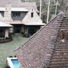 English Retreat - Bonner Buchanan Roofing Options, New Homes, English, House Design, Building, Architects, Ideas, Stone, Buildings
