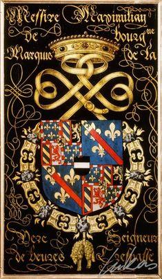Armorial plates from the Order of the Golden Fleece  Photo number:  0010205000 Artist:  Lukas de Heere Period (century):  16th century