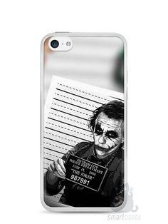 Capa Iphone 5C Coringa #1 - SmartCases - Acessórios para celulares e tablets :)
