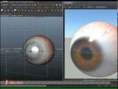 Maya - Speed Making Eye