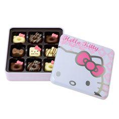 ハローキティ スイーツチョコレート(ギフト缶) サンリオオンラインショップ - キティなどサンリオキャラクターグッズの公式通販サイト