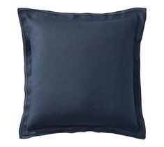 Belgian Flax Linen Flange Pillow Cover | Pottery Barn