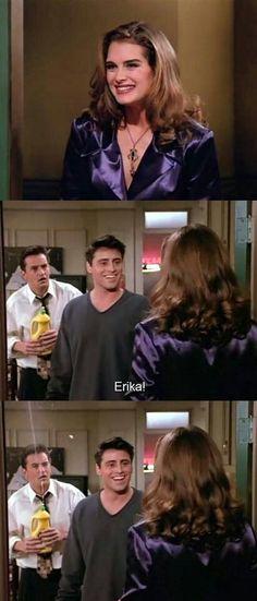 I love Chandler 's reaction!