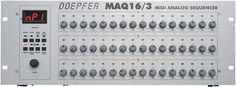 Doepfer MAQ16/3 MIDI Analog Sequencer - Studio piece