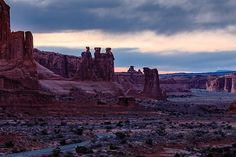 Twilight | Our first evening with Arches NP minutes after the sunset. The insane mix of colors tinting the sky with yellow orange red and blue and the reflected bluish tons in the rocks was absolutely stunning. . . [...] #mycanonstory #landscapelover #landscapephotography #landscape_captures #landscape_hunter #splendid_earth #discoverearth #earthfocus #awesome_earthpix #yourshotphotographer #beautifuldestinations #findyourpark #nationalparkgeek #theoutbound #lifeofadventure #landscape_lovers…