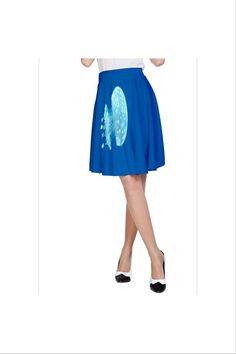 Jellyfish A-Line Skirt  only $35 by designer Nikky Starrett  Free shipping on orders over $50!