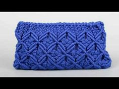 How to make macrame purse # design 11 - YouTube