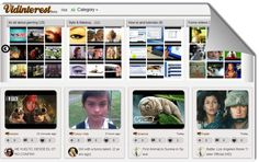 Vidinterest, guardar y organizar videos al estilo Pinterest