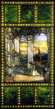 Window, c. 1900  Louis Comfort Tiffany (American, 1848-1933)