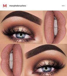 This makeup look is gorgeous. Yes.