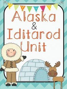 Alaska & Iditarod Complete Unit. It's a BLAST for your students!  50% off until 11:00 pm tonight! 1/12.