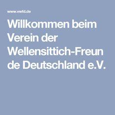 Willkommen beim Verein der Wellensittich-Freunde Deutschland e.V.