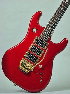 Kramer Ritchie Sambora Jersey Star 1987 Candy Red
