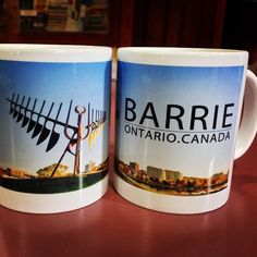 "Come in to see us @tourismbarrie and check out our new ""Barrie"" mugs for sale! Coffee will taste even better in one of these..... #visitbarrie #barrie #barriesouvenirs #mugs #getoutandplay tourismbarrie's photo on Instagram"
