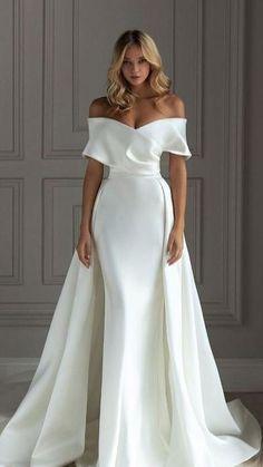 Evening Dresses For Weddings, Best Wedding Dresses, Lace Wedding, Gown Wedding, Wedding Cakes, Wedding Rings, Modest Wedding, Mermaid Wedding, Wedding Dressses