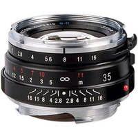 Voigtlander Nokton Classic 35mm f/1.4 Manual Focus M Mount Lens - Black