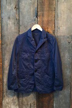 Engineered Garments Bedford Jacket Navy 6.5 oz Flat Twill