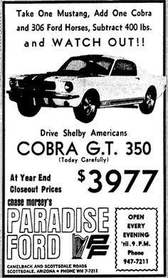 Shelby Ad