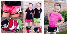 Personalized Athletic Shorts