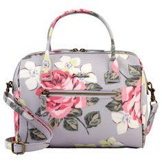 Richmond Rose Mini Embossed Bowler Bag | Richmond Rose | CathKidston