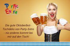 Party-Extra Deko, damit Dein Oktoberfest gelingt!