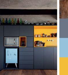 Entre moderne et rétro, cette cuisine sort de l'ordinaire !