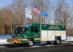 Green Tree, PA Pierce Heavy Rescue Squad.