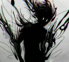 Monster Art, Shadow Monster, Monster Concept Art, Shadow Creatures, Dark Creatures, Fantasy Creatures, Mythical Creatures, Demon Art, Foto Fantasy