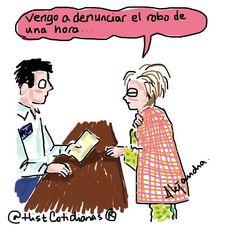 PGR vengo a denunciar... #horariodeverano by histcotidianas
