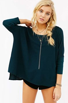 Chaser High/Low Boxy Top