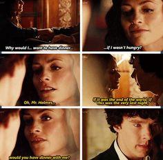 Sherlock. Irene Adler.
