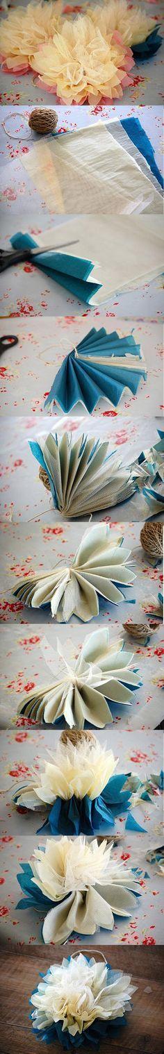 DIY Tutorial: Flower Crafts / DIY Fabric flower - Bead&Cord바카라사이트바카라사이트바카라사이트바카라사이트바카라사이트바카라사이트바카라사이트