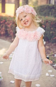 Innocence Rose Spring Dress Preorder 2T to 10 Years