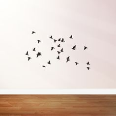 Items similar to Flying flock of birds vinyl wall stickers on Etsy Bird Wall Decals, Vinyl Wall Stickers, Flock Of Birds, Flocking, Personalized Gifts, Unique Gifts, Etsy, Kid Stuff, House Ideas