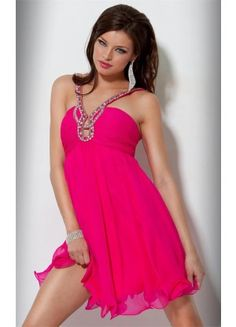 Best A-line Sleeveless Spaghetti Straps Organza Knee-length Prom Dresses - Wedding Dresses