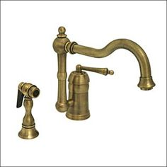 Check out the Whitehaus 3-3190 Legacyhaus Single Lever Handle Faucet with Side Spray priced at $506.00 at Homeclick.com.