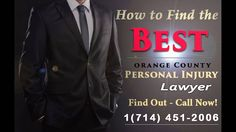 Personal Injury Lawyers in Orange County - https://youtu.be/Sm4PkWDyahs