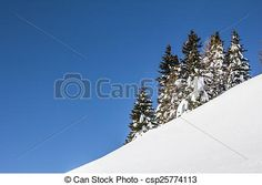 #Winter #Scenery #Trees #Snow #Blue #Sky @canstockphoto #canstockphoto #csp #nature #landscape #season #outdoor #mountains #vacation #holiday #skiing #hiking #Carinthia #Austria #ktr15