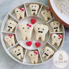 Dentist couple theme #dentist #instagood #instafood #instacute #love #macaron #macarons #macaroon #macaroons #teeth