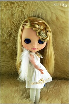 My Christmas Angel by cloutz. I heart Blythe