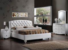 Best Modern Bed Frames — House Home Decor Bed Frame Design, Bed Design, Teal Bedroom Furniture, Unique Bed Frames, Modern Queen Bed, Mid Century Modern Bed, Mattress Frame, Dining Room Sets, Bed Styling