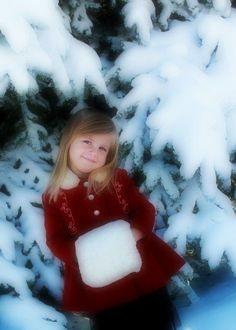 vintage holiday dress coat & muff